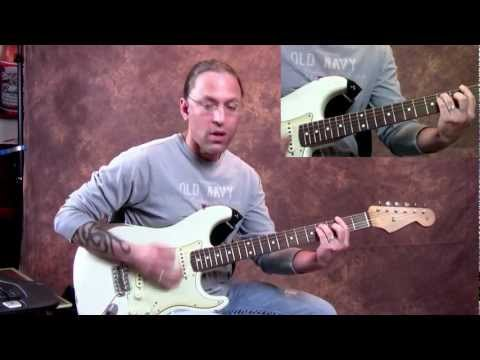 Steve Stine Guitar Lesson - Learn How To Play Still the One by Orleans Part 2
