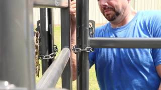 How To Install An Alley Gate