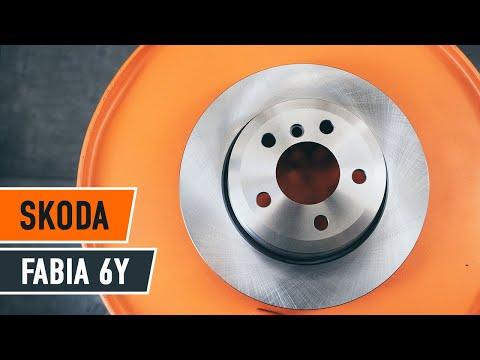 Cambio dischi del freno anteriori e pastiglie freni SKODA FABIA 6Y TUTORIAL | AUTODOC