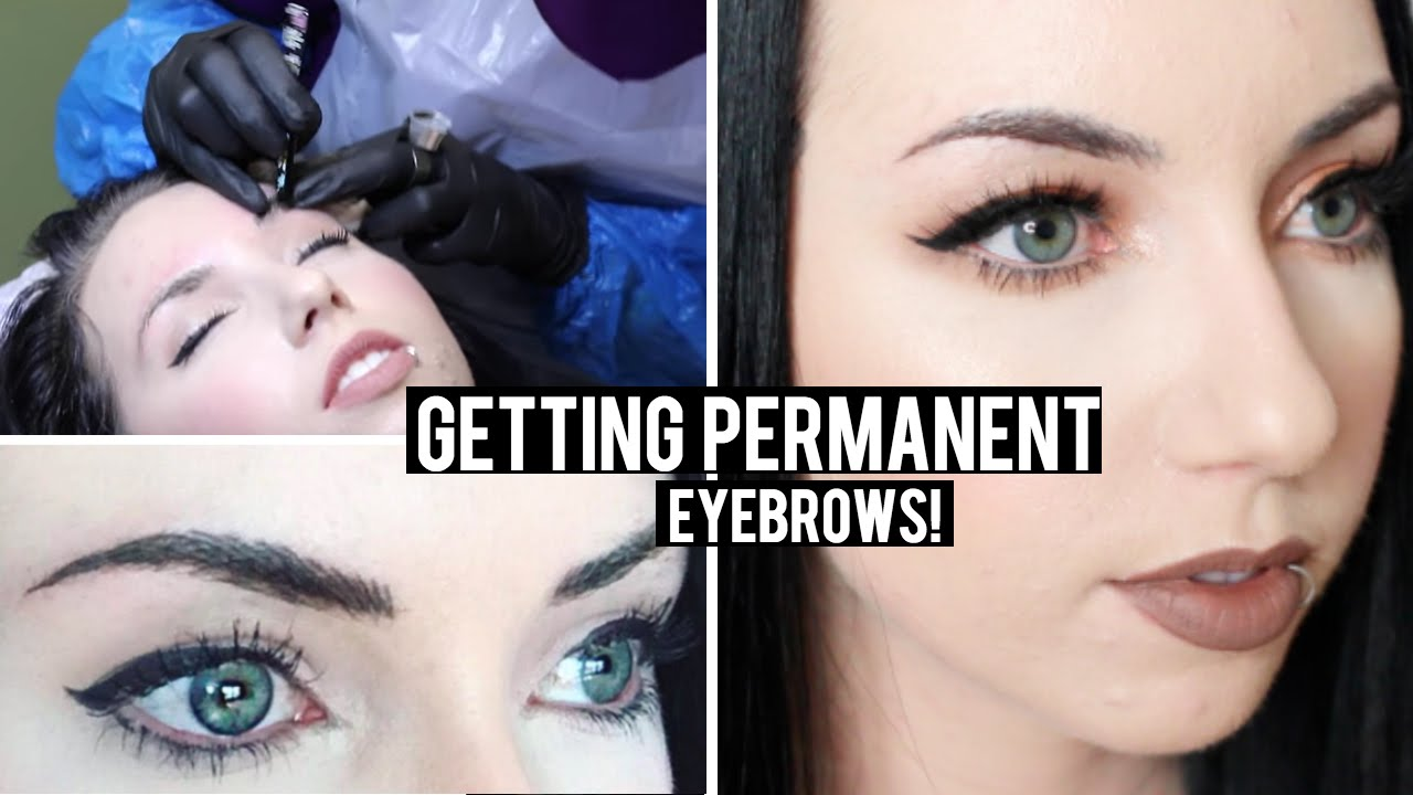 Getting Permanent Hair Stroke Eyebrows Before After And My