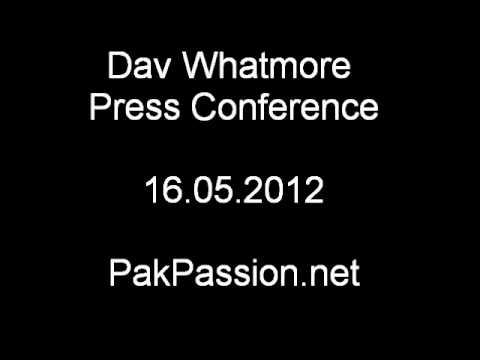 Dav Whatmore Press Conference | 16.05.2012