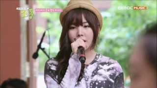 After School Raina & Hello Venus Yoo Ara - First Love 130722.