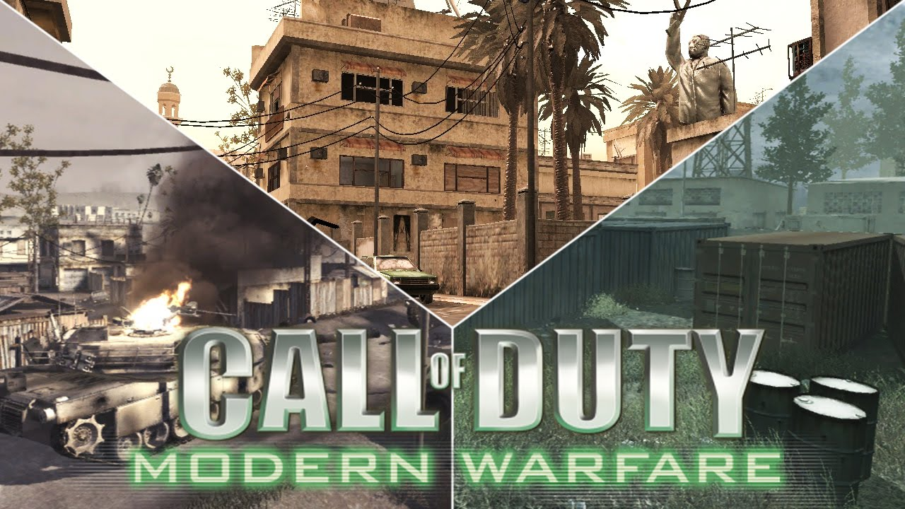Which 10 Multiplayer Maps In Cod4 Modern Warfare Remastered Youtube