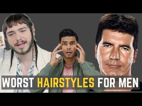 6 UGLIEST Hairstyles Men Should AVOID! | DO NOT WEAR THESE!