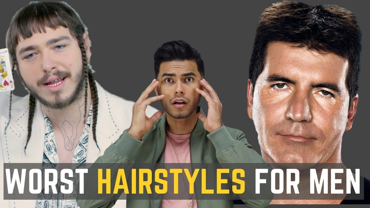6 Ugliest Hairstyles Men Should Avoid Do Not Wear These Youtube