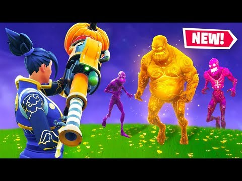 ZOMBIES In Fortnite Battle Royale! (Halloween Event)