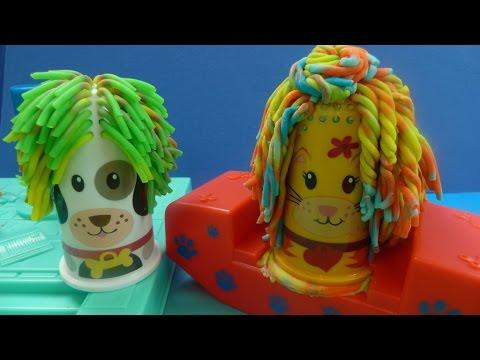 Đồ Chơi Play-Doh Cắt Tóc Cho Thú Cưng (Bí Đỏ) Play-Doh Fuzzy Hair Pet Salon Design Pet