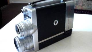 Bell & Howell 16 MM 200 EE Home Movie Camera 1952 Vintage