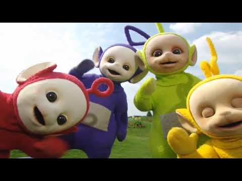 The Teletubbies dance to sick beats and get a little surprise!!!