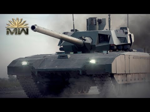 NEW Russian MBT - T 14 Armata