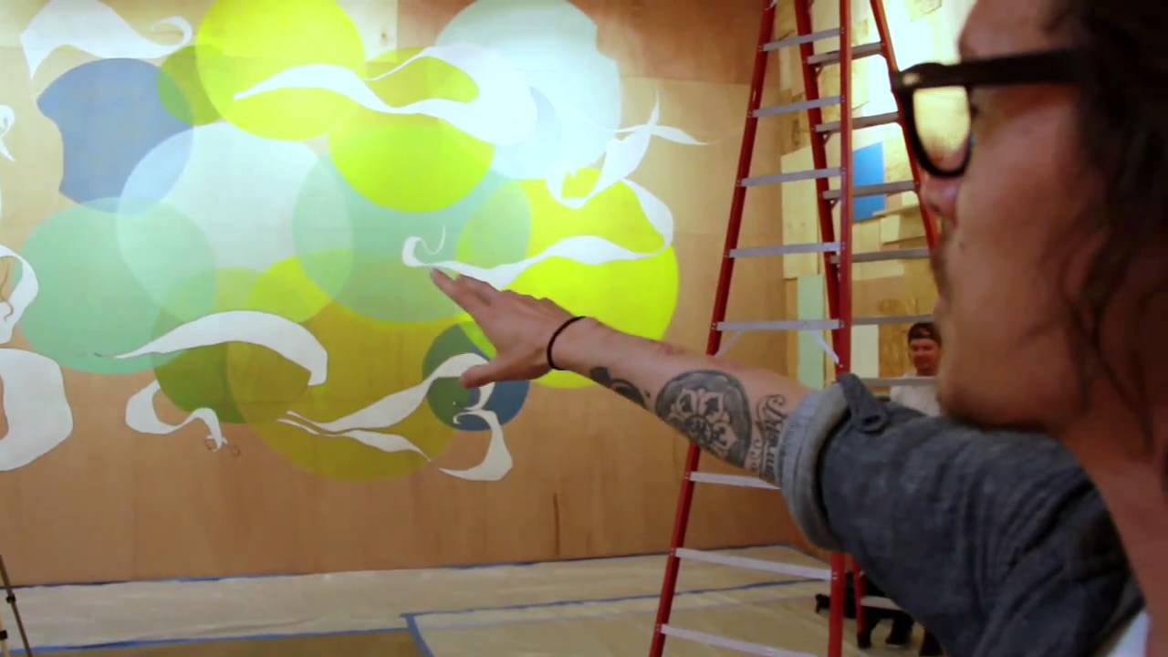 From concept to completion with brandon boyd youtube for Brandon boyd mural