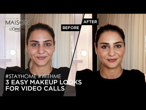 #StayHome & Try Casual, Work From Home & Virtual Date Makeup Looks #WithMe | Simmy Goraya | Lockdown