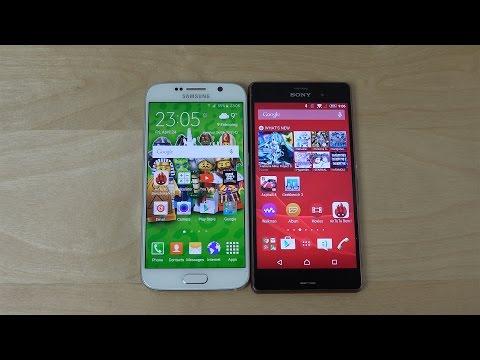 Samsung Galaxy S6 vs. Sony Xperia Z3 Review!