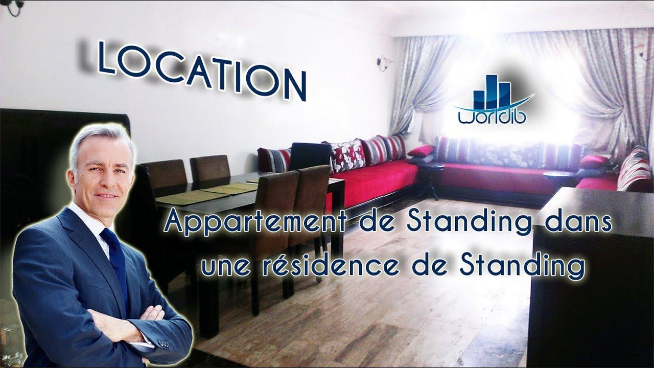 Appartement de standing a louer agence immobiliere for Location appartement sans agence immobiliere