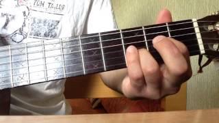 Юта - Жили-были (разбор припева и проигрыша)