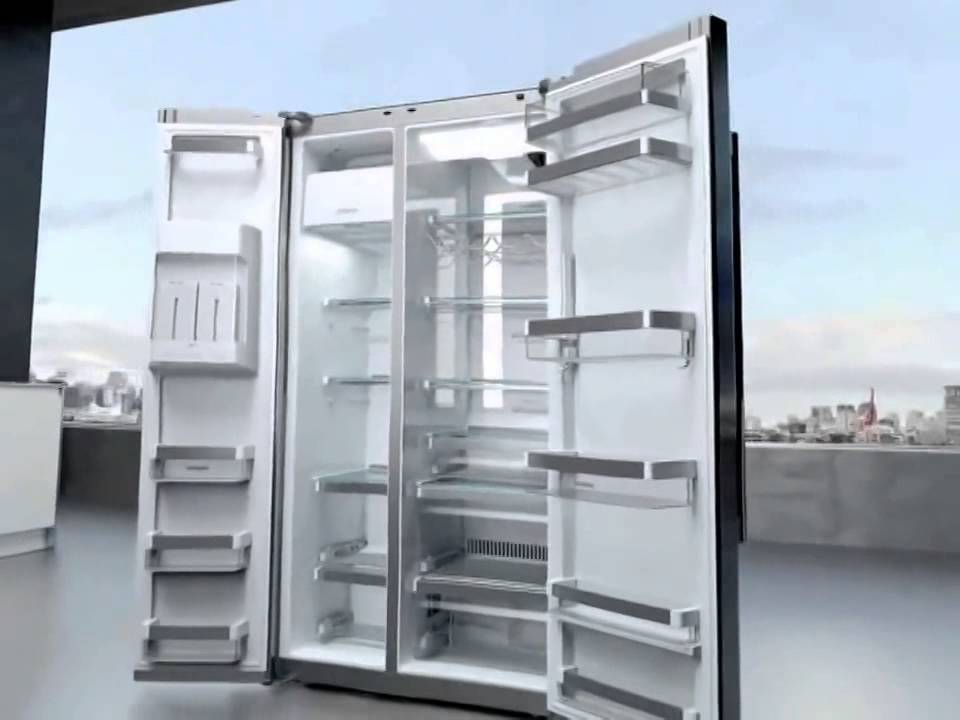 Siemens Coolduo Side By Side Refrigerator Youtube