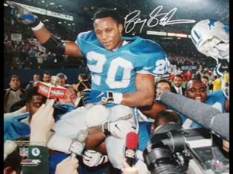Amazing Barry Sanders Highlight Reel (must see)