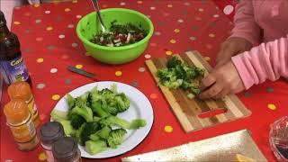 brocoliov salat. ԲՐՈԿՈԼԻՈՎ  աղցան