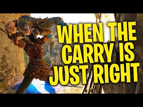 When the Carry Is Just Right - For Honor Season 5