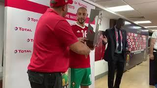 #كأس_إفريقيا_للأمم|مصر2019|#نورالدين_أمرابط رجل المباراة.  #المغرب_كوت_ديفوار.  #TotalAFCON2019.
