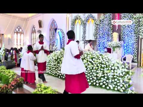 Feast Day Mass @ Feast of Our Lady of Lourdes Church,Halasuru,Bangalore,KA,India,12-02-17
