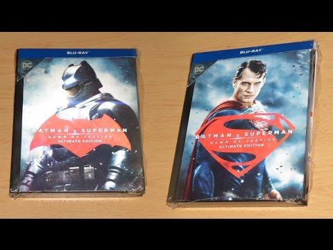 Batman v Superman: Dawn of Justice - Limited Ultimate Edition-Edição Blu-Ray Book Exclusiva-Blu-Ray