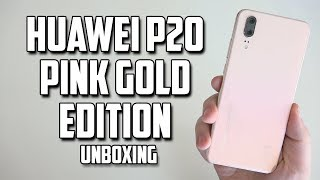 Huawei P20 Pink Gold Edition