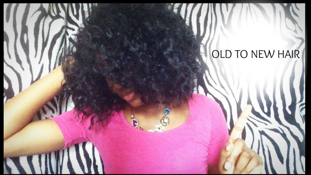 How To Detangle Curly Synthetic Weavewigs Youtube