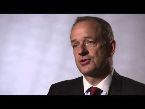 CEO of GlaxoSmithKline speaks about HIV and the pharmaceutical industry