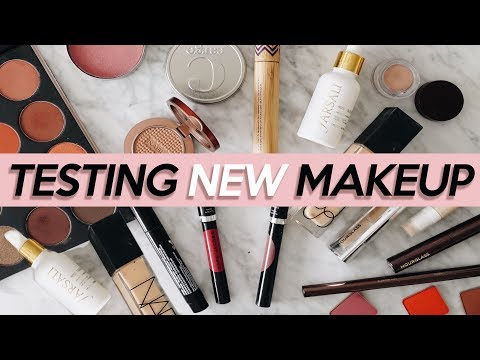 TESTING NEW MAKEUP + CHECK IN'S! | January 2018 | Jamie Paige