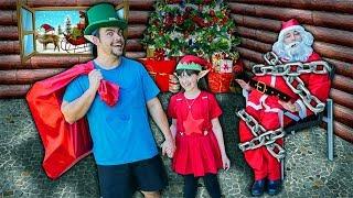 O Papai Noel Foi Capturado !!! Luccas Salvou O Natal Das CrianÇas Do Mundo !!!