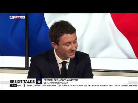 Benjamin Griveaux discusses France's business attractiveness on Sky News