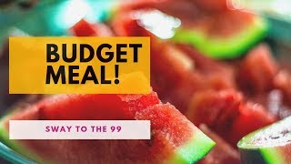 99 Cents Only Stores | Delicious budget and kid friendly meal! 👨🏽🍳