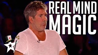 TOP 5 Psychic Acts That SHOCKED Simon Cowell! | Magicians Got Talent