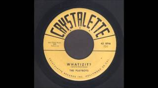 The Playboys - Whatizit? - Rockabilly Instrumental 45