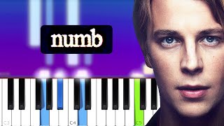 Tom Odell - numb  (Piano Tutorial)