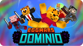 EGGWARS: GRAN DOMINIO! | Minecraft - Gona, Sarinha, Macundra, Exo y Luh