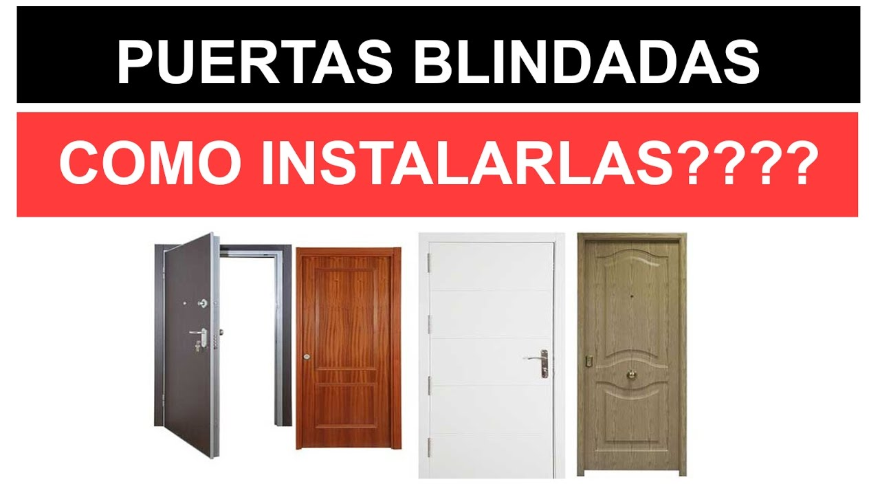 Instalar puertas blindadas instalar puertas acorazadas for Puertas blindadas
