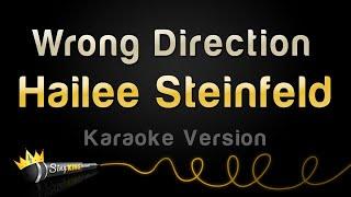 Download Mp3 Hailee Steinfeld - Wrong Direction  Karaoke Version