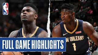 PELICANS at BULLS | Zion Scores 29 In Pelicans Comeback Win | 2019 NBA Preseason
