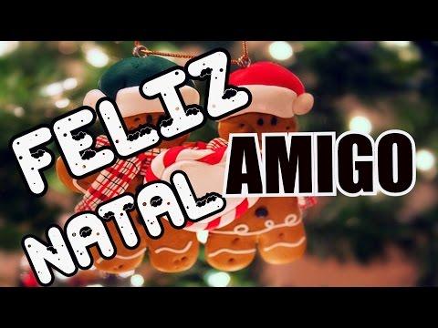 Bela Mensagem - FELIZ NATAL MEU AMIGO || MENSAGEM DE NATAL #01