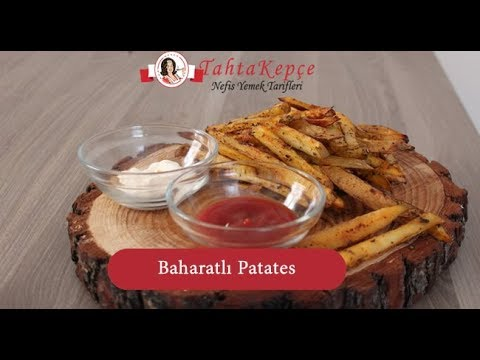 Baharatlı Patates Kızartması Tarifi Videosu