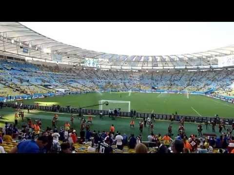 The stadium Maracana of Rio Janeiro ● Ecuador vs France ● World Cup 2014