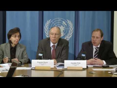 World Intellectual Property Report 2013 - Press Conference