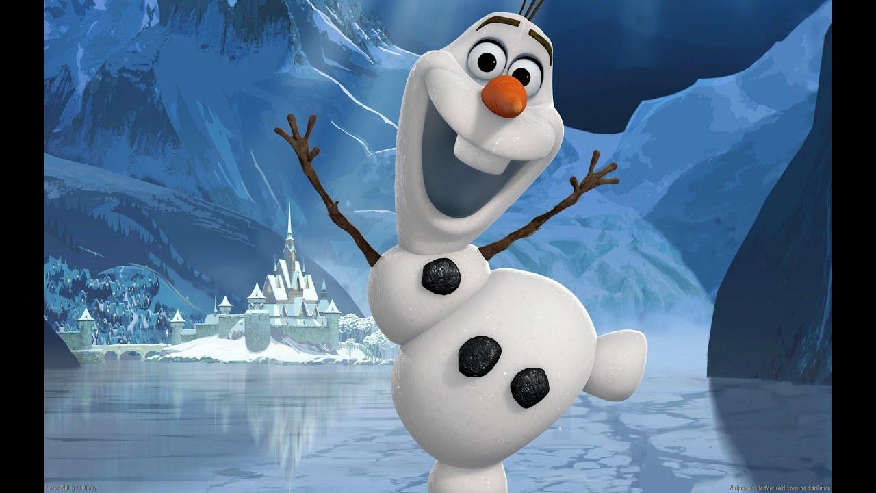 Frozen Olaf Kum Boyama Yapıyoruz Youtube