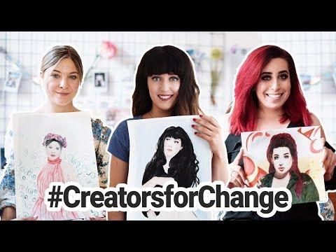 Ich male YouTuber und ihre Geschichten #CreatorsForChange // I'mJette