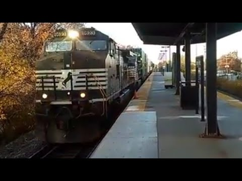 S3E7 on Wednesday: 11/23/16: Morning Rush Hour at Roselle Park: Park and Ride Station.