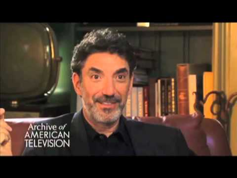"Chuck Lorre on working on ""My Two Dads"" - EMMYTVLEGENDS.ORG"