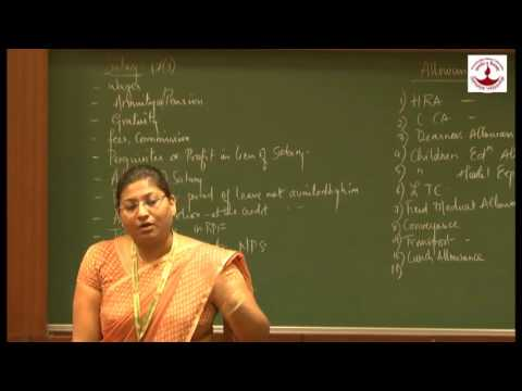 Monica Lodha - Income from Salary