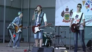 """Группа """"Джунгли"""" - Концерт против наркотиков в Славянске-на-Кубани (26.06.2014)"""